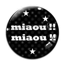 Cabochon Verre - miaou !!! miaou !!!