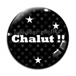 Cabochon Verre - chalut !!!