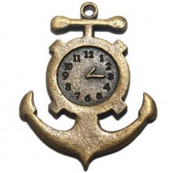 1 Grand pendentif montre ancre de bateau