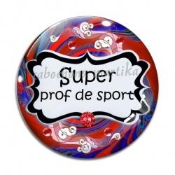 Cabochon Verre - super prof de sport