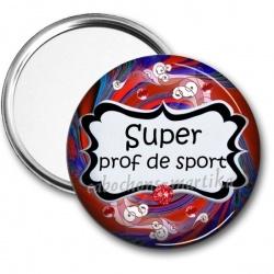 Miroir de poche - super prof de sport