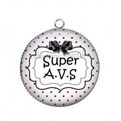 Pendentif Cabochon Argent - super A.V.S