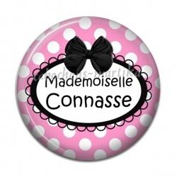 Cabochon Résine - Mademoiselle connasse