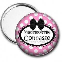 Miroir de poche - Mademoiselle connasse