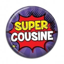 Cabochon Résine - Super cousine