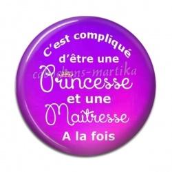 Cabochon Résine - princesse