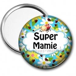 Miroir de poche - Super Mamie