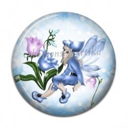 Cabochon Résine - petite fille ange