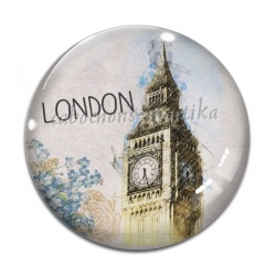 Cabochon Verre - london