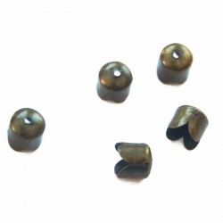 10 COUPELLES,CALOTTE BRONZE 8 MM