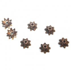 coupelles 9 mm métal cuivre