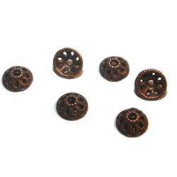 coupelles 10 mm métal cuivre