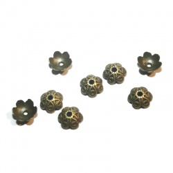 coupelles 9.5 mm métal bronze