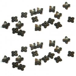 coupelles 6 mm métal bronze