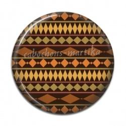 Cabochon Résine - Afrique