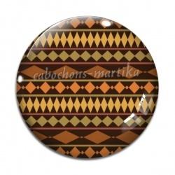 Cabochon Verre - Afrique
