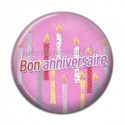 Cabochon Résine - bon anniversaire