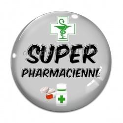 Cabochon Verre - super pharmacienne