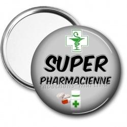 Miroir de poche - super pharmacienne