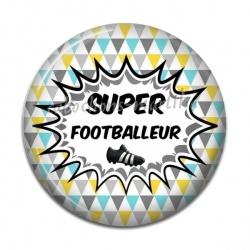 Cabochon Résine - super footballeur