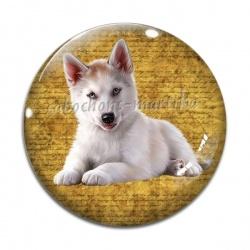 Cabochon Verre - chien