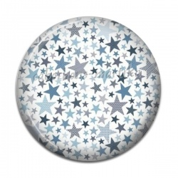 Cabochon Résine - étoiles
