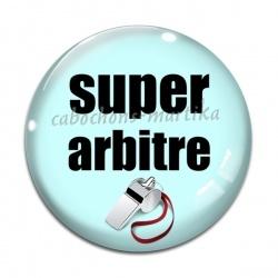 Cabochon Verre - super arbitre