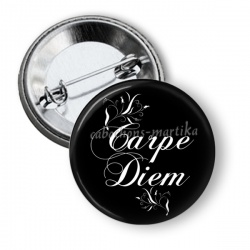Badge - carpe diem