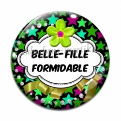 Cabochon Verre - Belle-fille formidable