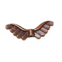 Perle aile métal cuivre