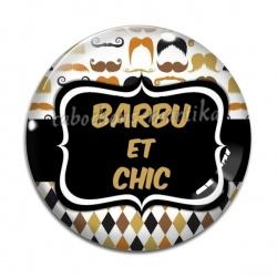 Cabochon Verre - barbu et chic