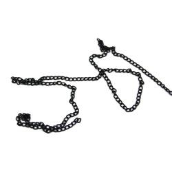 1 Métre chaine métal noir