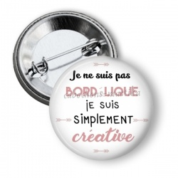 Badge - slogan