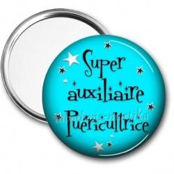 Miroir de poche - super auxiliaire puéricultrice