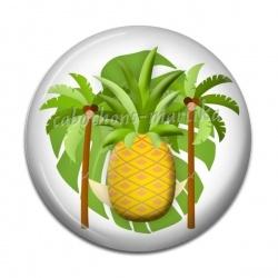 Cabochon Résine - ananas