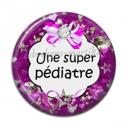 Cabochon Résine - Une super pédiatre