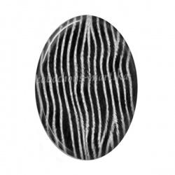 Cabochon Résine Ovale - peau