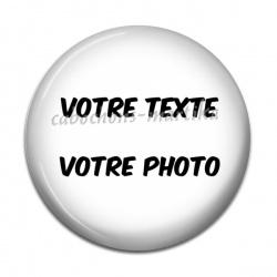 Cabochon Résine - votre texte