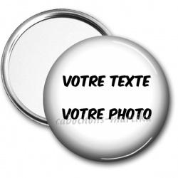 Miroir de poche - votre texte