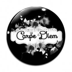 Cabochon Verre - Carpe Diem