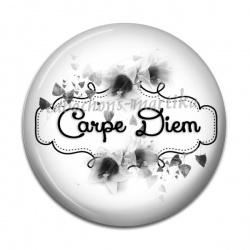 Cabochon Résine - Carpe Diem