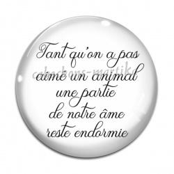 Cabochon Verre - proverbe
