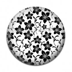 Cabochon Résine - fleur