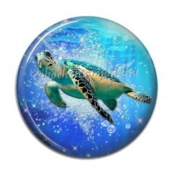 Cabochon Résine - tortue