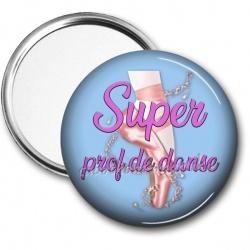 Miroir de poche - super prof de danse