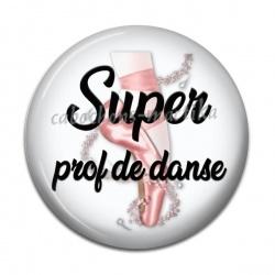 Cabochon Résine - super prof de danse