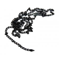 1 M de chaine noir moucheté