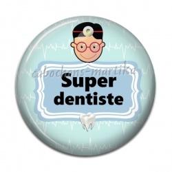 Cabochon Résine - super dentiste