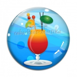 Cabochon Verre - cocktail