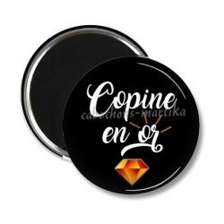 Magnet's - copine en or